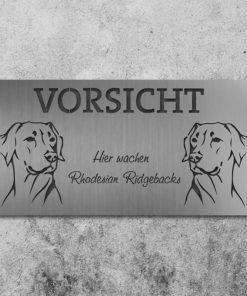 Schild Rhodesian Ridgeback