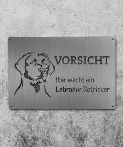 Hundeschild Labrador Retriever