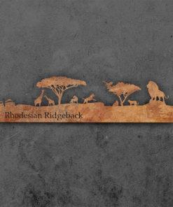 Skyline Rhodesian Ridgeback Rostdesign Vorderseite