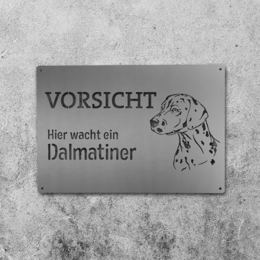 Hundeschild Dalmatiner