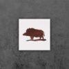 Jagd Bild Wildschwein 17x17
