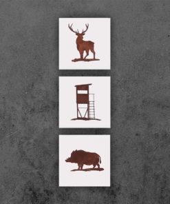 Jagd Bilder 17x17 Beispiel